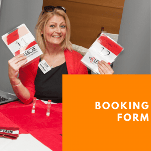 Exhibitor Booking Form at Stoke Business Show